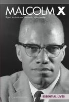 Cover image for Malcolm X : rights activist and Nation of Islam leader