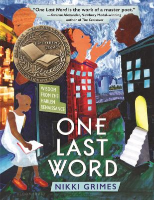 Cover image for One last word : wisdom from the Harlem Renaissance