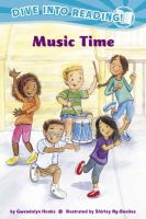 Cover image for Music time