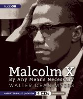 Cover image for Malcolm X: by any means necessary