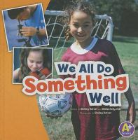 Cover image for We all do something well