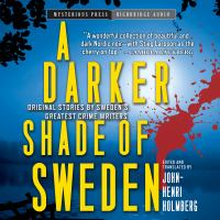 Cover image for A darker shade of Sweden : original stories by Sweden's greatest crime writers