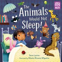 Cover image for The animals would not sleep!