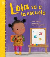 Cover image for Lola va a la escuela