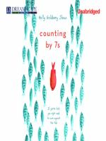 Cover image for Counting by 7s