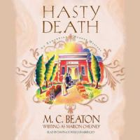 Cover image for Hasty death
