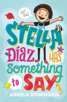 Cover image for Stella Diaz has something to say