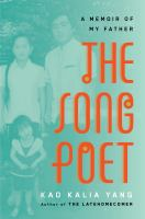 Cover image for The song poet : a memoir of my father