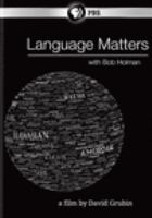 Cover image for Language matters with Bob Holman