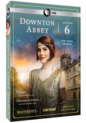 Cover image for Downton Abbey. Season 6