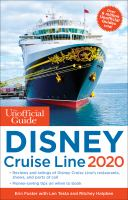Cover image for The unofficial guide to Disney Cruise Line 2020