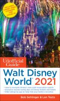 Cover image for The Unofficial Guide to Walt Disney World 2021