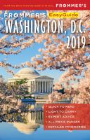Cover image for Frommer's easyguide to Washington, D.C.