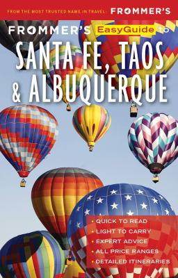 Cover image for Frommer's easyguide to Santa Fe, Taos and Albuquerque