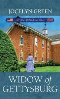 Cover image for Widow of Gettysburg : heroines behind the lines