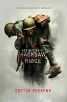 Cover image for Redemption at Hacksaw Ridge : the gripping true story that inspired the movie