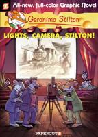 Cover image for Geronimo Stilton : Lights, camera, Stilton!