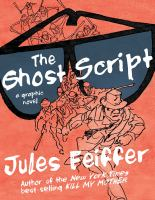 Cover image for The ghost script : a graphic novel