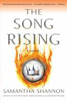 Cover image for The song rising
