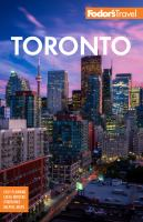 Cover image for Fodor's travel Toronto