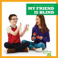 Cover image for My friend is blind