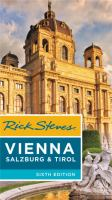 Cover image for Rick Steves' Vienna, Salzburg, & Tirol.