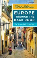 Cover image for Rick Steves Europe through the back door