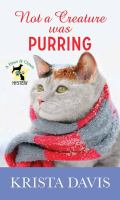 Cover image for Not a creature was purring