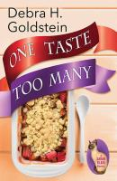 Cover image for One taste too many