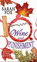 Cover image for Wine and punishment