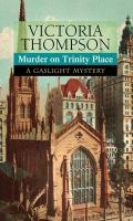 Cover image for Murder on Trinity Place