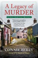 Cover image for A legacy of murder