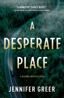 Cover image for A desperate place
