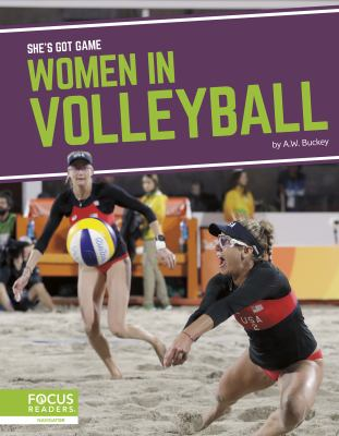 Cover image for Women in volleyball