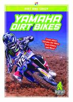 Cover image for Yamaha dirt bikes
