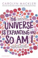Cover image for The universe is expanding and so am I