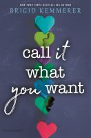 Cover image for Call it what you want