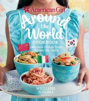 Cover image for American girl around the world cookbook