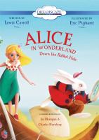 Cover image for Alice in wonderland : down the rabbit hole
