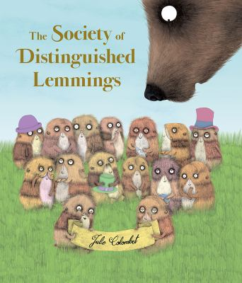 Cover image for The Society of Distinguished Lemmings