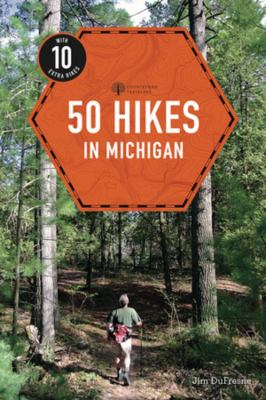 Cover image for 50 hikes in Michigan