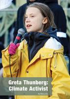 Cover image for Greta Thunberg : climate activist