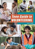 Cover image for Teen guide to volunteering