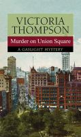 Cover image for Murder on Union Square