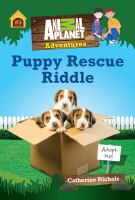 Cover image for Puppy rescue riddle