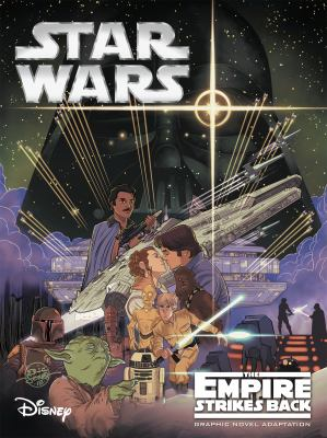 Cover image for Star wars. The empire strikes back : graphic novel adaptation