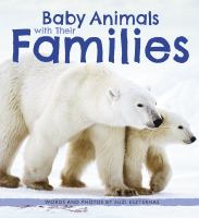 Cover image for Baby animals with their families
