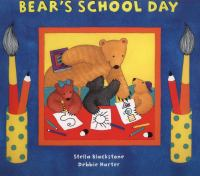 Cover image for Bear's school day