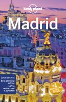 Cover image for Madrid.