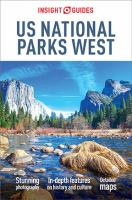 Cover image for US national parks West.
